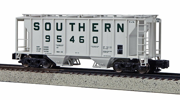 (S) PS-2 Covered 2-Bay Hopper - Southern