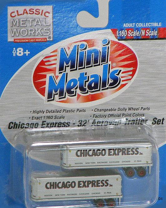 (N) 32' Aero Van Trailer Set - Chicago Express