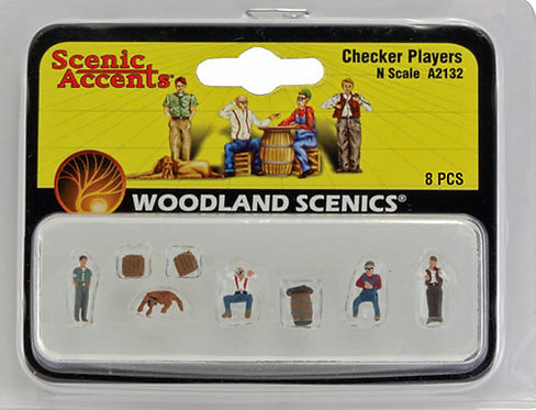 Figure Set - Checker Players