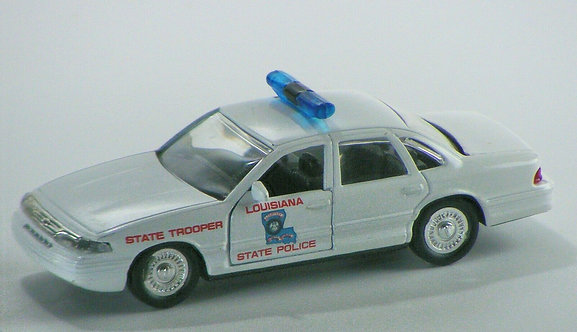 1:43 Scale 1996 Ford Crown Victoria - Louisiana State Police