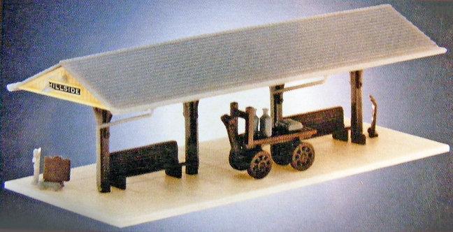 (N) Plastic Structure Kit - Station Platform