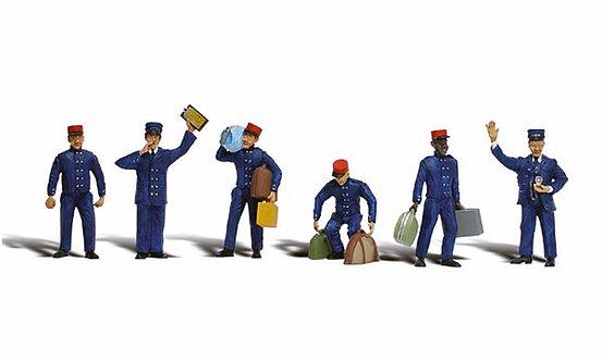 Figure Set - Train Personel