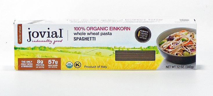 Jovial Organic Whole Wheat Pasta - Spaghetti