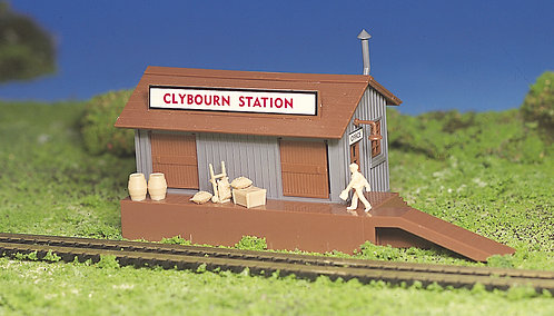 (HO) Plastic Structure Kit - Freight Station