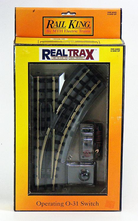 (O) MTH RealTrax O-31 Turnouts