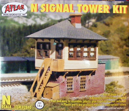 (N) Plastic Structure Kit - Signal Tower