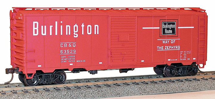 (HO) Accurail Freight Car Kits - CB&Q