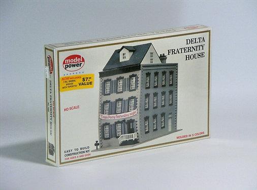 (HO) Plastic Structure Kit - Delta Fraternity House