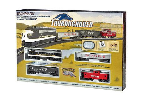 (HO) Thoroughbred Electric Train Set