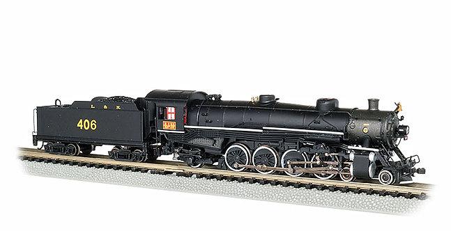 (N) 4-8-2 Light Mountain Steam Locomotive - Louisville & Nashville