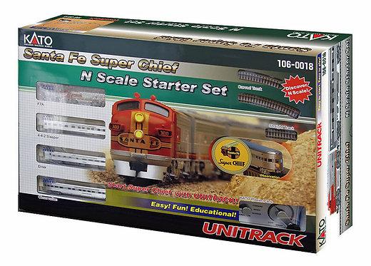 (N) KATO Santa Fe Super Chief Passenger Train Set