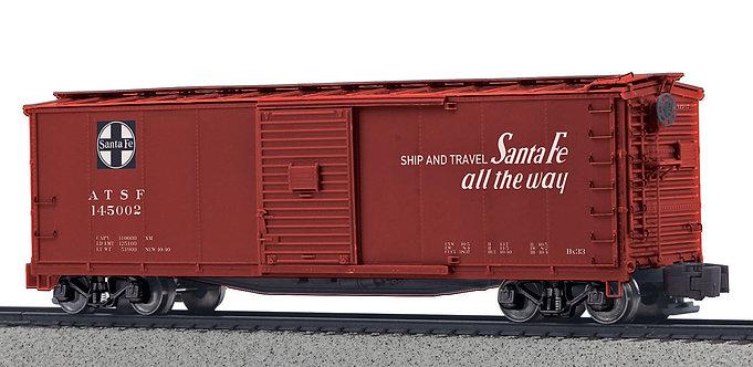 (S) 40' Rebuilt Steel Boxcar - Santa Fe