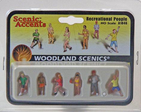 Figure Set - Recreational People