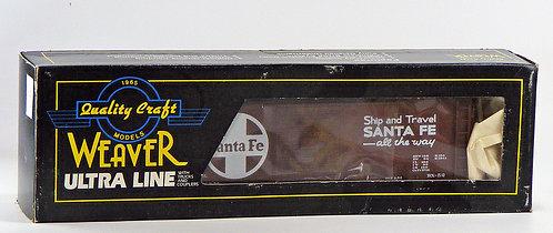 Weaver O Scale 40' PS-1 Boxcar Kit - Santa Fe