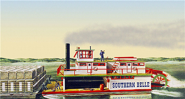 Southern Belle Paddlewheel Steamboat