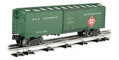 (O27) 40' Refrigerator Express Car - Railway Express Agency