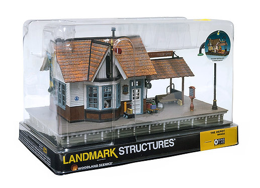 (O) Built-Up Structure - The Depot