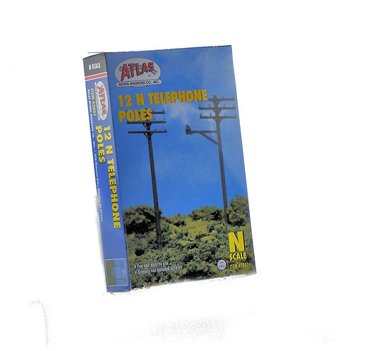 (N) Plastic Scenery Kit - Telephone Poles