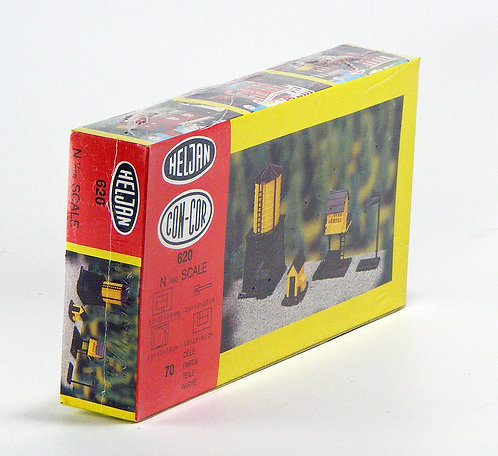 (N) Plastic Structure Kit - Trackside Structures