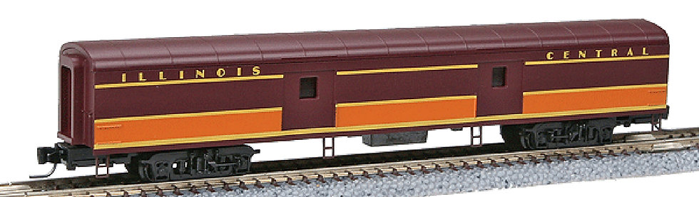 (Z) 70' Pullman Standard Smoothside Baggage Car - Illinois Central