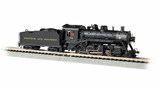 (N) 2-8-0 Steam Locomotive - Norfolk & Western