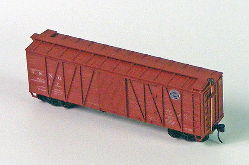 (HO) Accurail 40' Boxcar Kit - SP / T&NO
