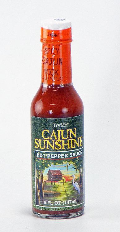 Cajun Sunshine Hot Pepper Sauce 5oz