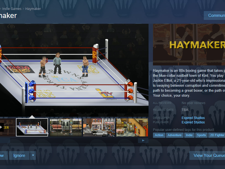 Haymaker is now on Steam!