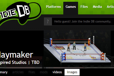 IndieDB and Haymaker