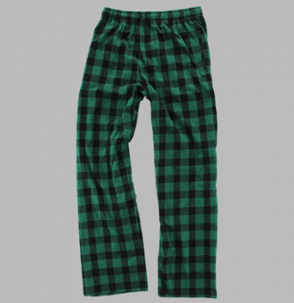 Green Check Lounge Pants | Unisex