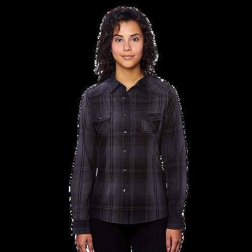 Black Western Plaid Flannel