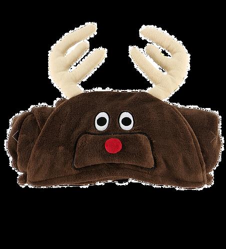 Reindeer Hooded Blanket Kids