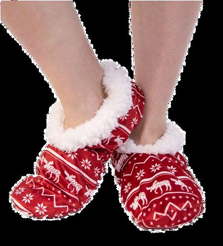 Nordic Moose Slippers