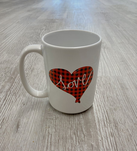 Flannel Love Mug