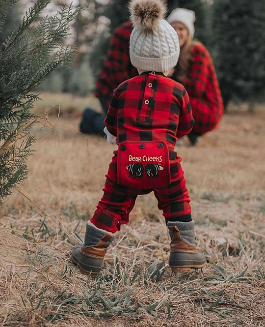 Bear Cheeks Onesie | Infant