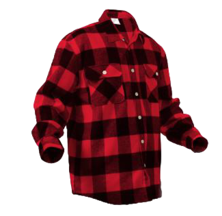 Extra Heavyweight Buffalo Plaid Flannel