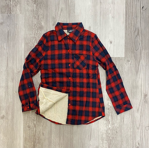 Sherpa Lined Junior Flannel