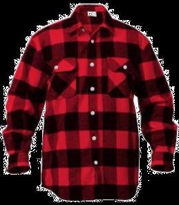 Extra Heavyweight Buffalo Plaid Flannel