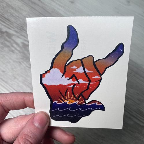 Beach Lover Sticker