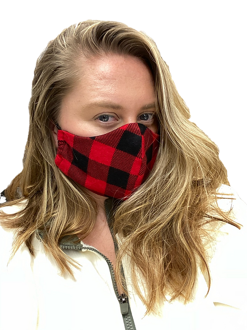 Adjustable Cotton Face Mask | Handmade in New Hampshire
