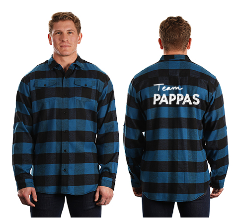 Team Pappas Unisex Flannel Shirt
