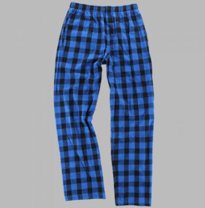 Blue Check Loungepants | Youth