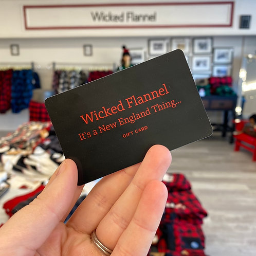 Wicked Flannel Gift Card