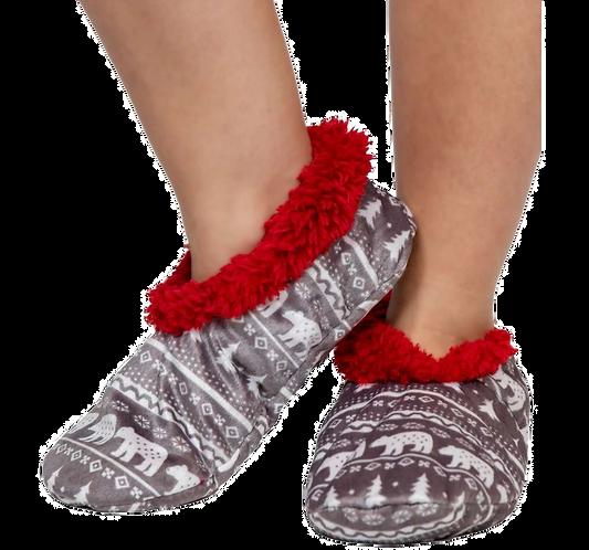 Nordic Bear Slippers