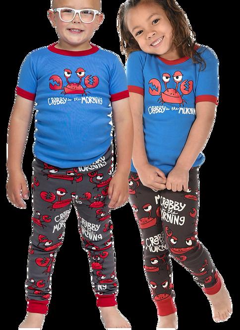 Crabby in the Morning Kids PJ Set