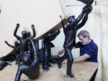 """Monumentaal kunstwerk op komst in Fort van Breendonk - """"Oog in oog met het verzet"""""""