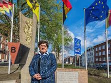 """Artikel: Opgeknapt monument eert politiekegevangenen: """"Ze vochten voor onze vrijheid"""""""