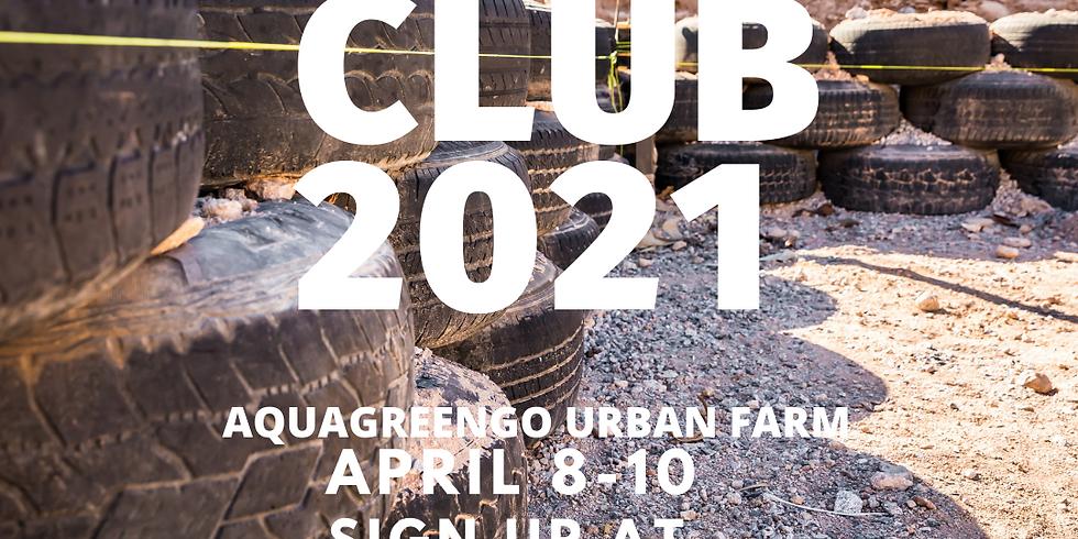 4/10/2021 - Tire Building Party - AquaGreenGo Greenhouse