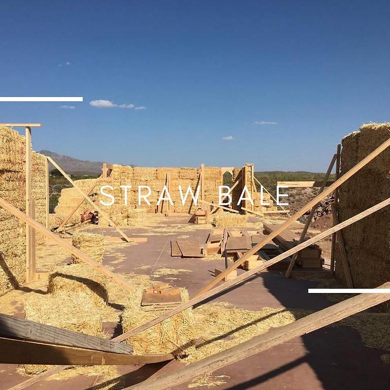 Strawbale Stacking Party - Carroll Strawbale Residence