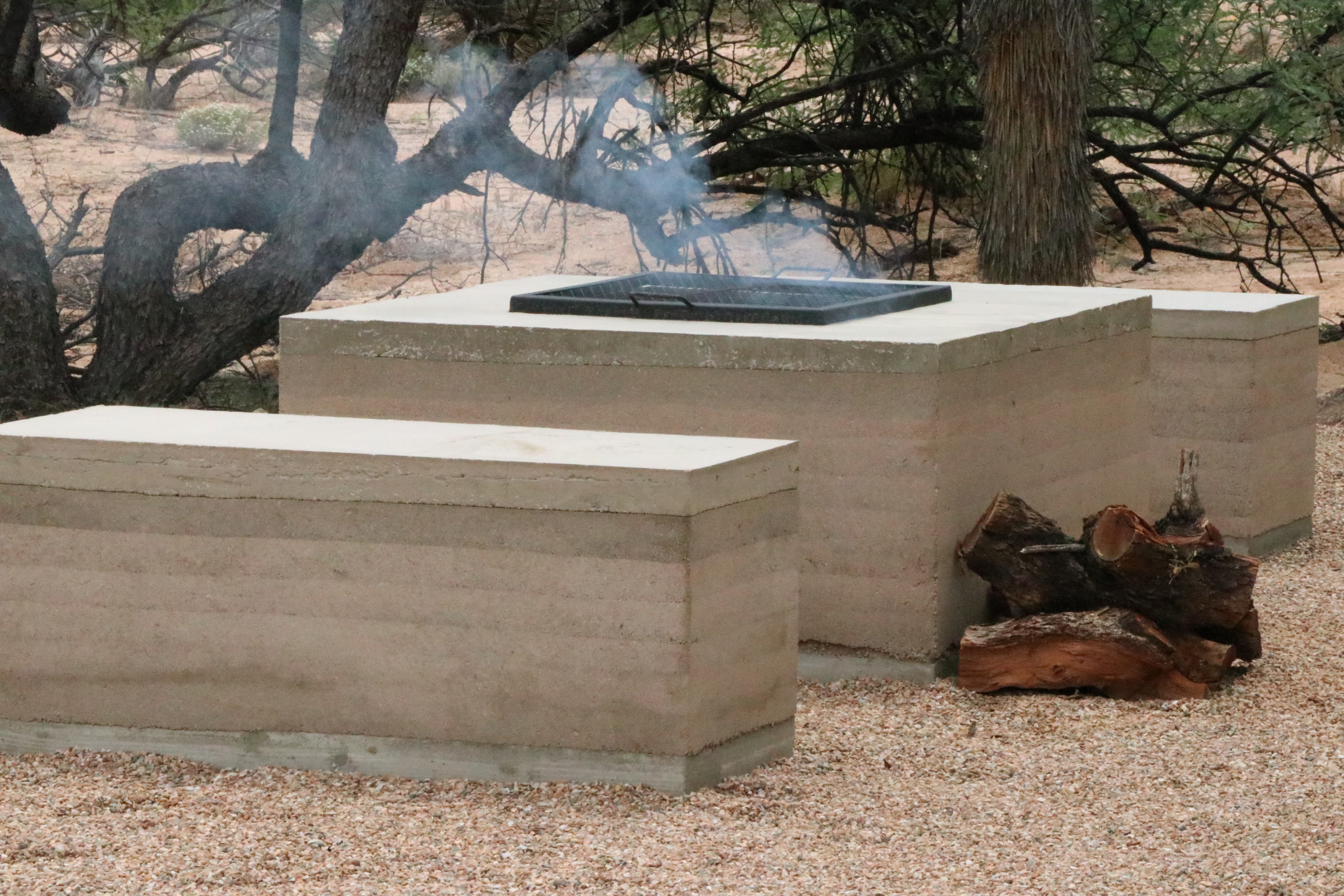 Fire Pit & Benches